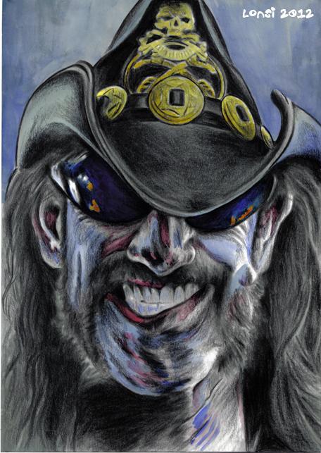 Lemmy Kilmister par volverine